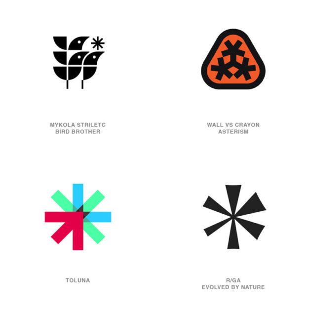 ロゴデザインのトレンド1【アステリスク】