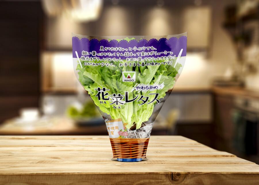 野菜のフィルムパッケージデザイン作成依頼