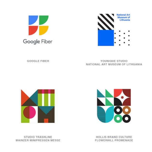 ロゴデザインのトレンド7【4個1組】