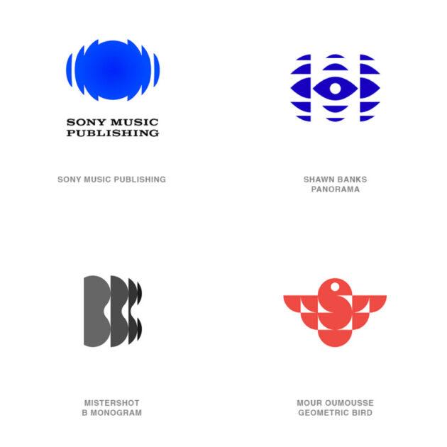 ロゴデザインのトレンド3【CBCロゴ風重ね継ぎ】