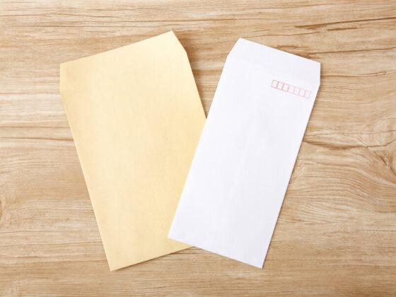 封筒の用紙について
