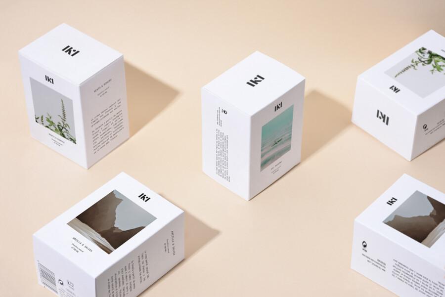 紙パッケージデザイン