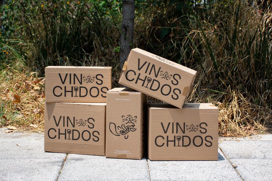 ワインのセレクトショップのロゴデザイン