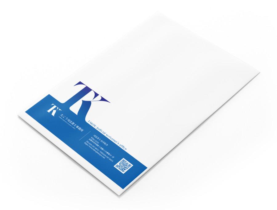 封筒デザイン作成例4