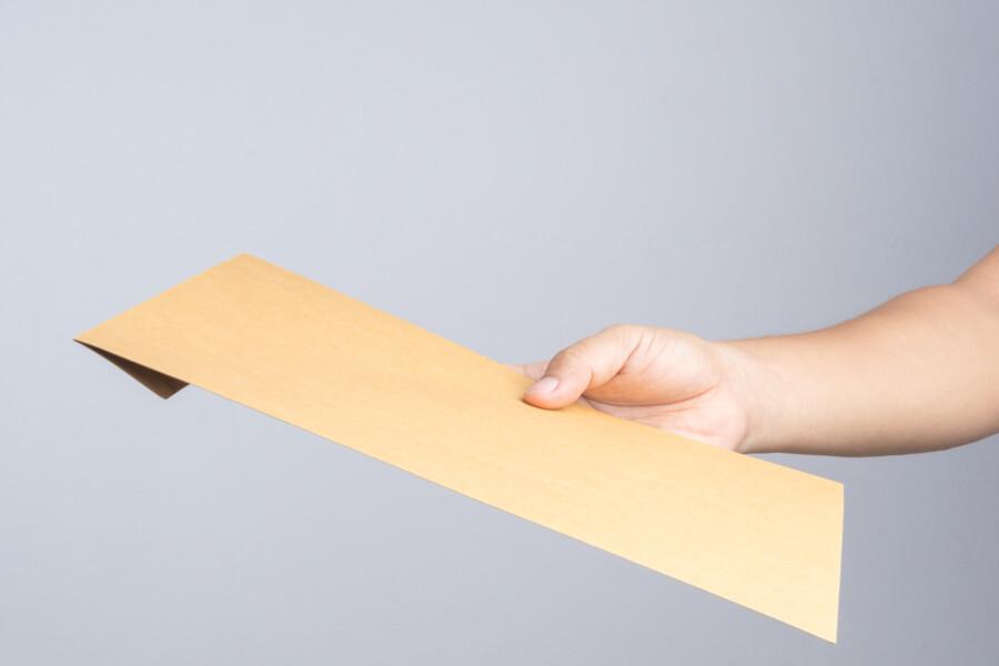 封筒デザインの制作について