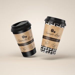 コーヒーカップのデザイン事例