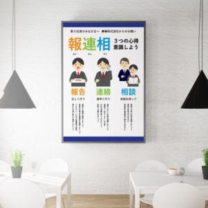 報連相のポスター