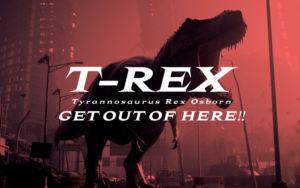 フリーフォント「T-REX」