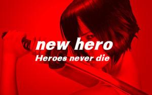 フリーフォント NEW HERO