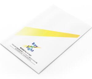 封筒デザイン作成例1